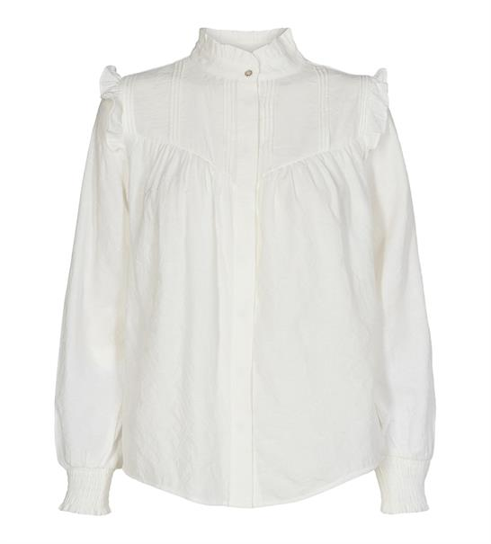 Co'Couture blouse 95421 in het Offwhite