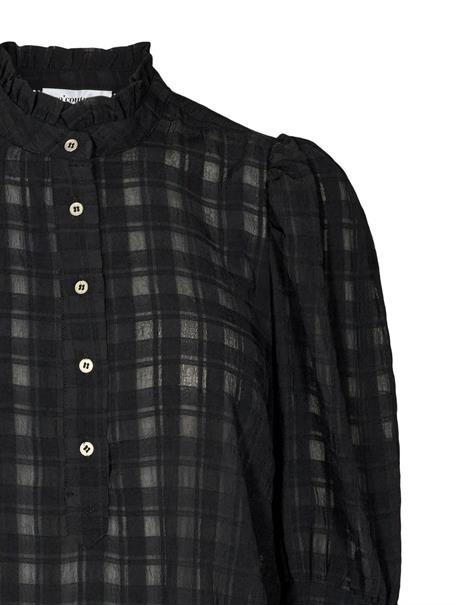 Co'Couture blouse 95547 in het Zwart