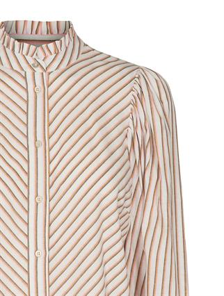 Co'Couture blouse 95553 in het Oud Roze