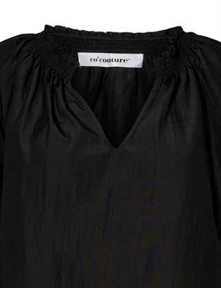 Co'Couture blouse 95631 in het Zwart