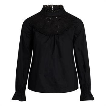 Co'Couture blouse 95735 in het Zwart