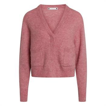 Co'Couture gebreid vest 92114 in het Roze