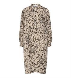 Co'Couture jurk 96377 in het Zwart / Beige