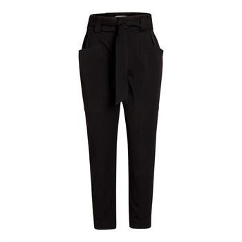Co'Couture pantalons 91222 in het Zwart