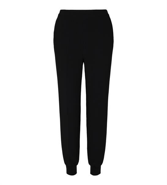 Co'Couture pantalons Comfort Fit 91060 in het Zwart
