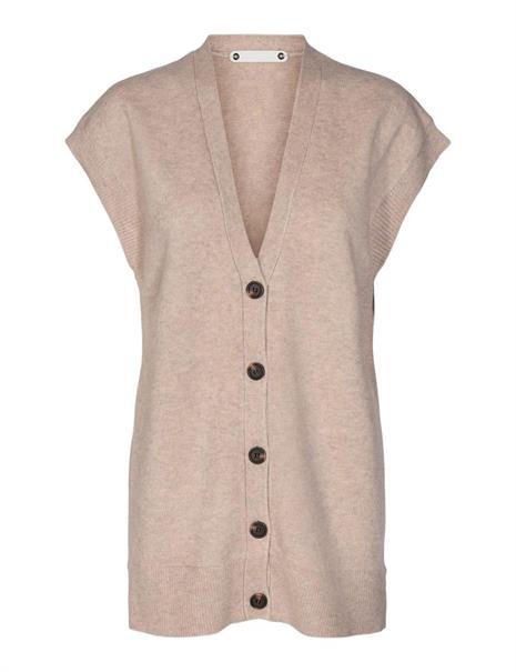 Co'Couture vest 92102 in het Beige
