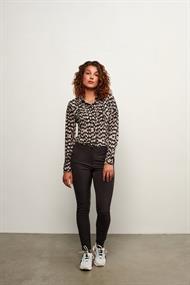 &CO Woman blouse lotte in het Zwart / Wit