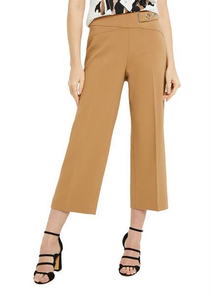 Comma 7/8ste broek Regular Fit 2047642 in het Camel