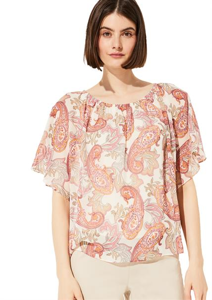 Comma blouse 2046802 in het Roze