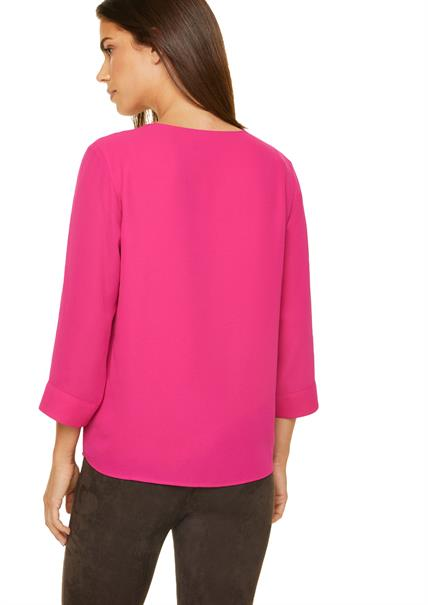 Comma blouse 2050118 in het Roze