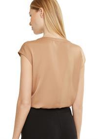 Comma blouse 2051088 in het Camel