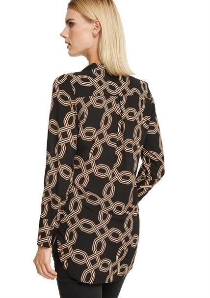 Comma blouse 2052577 in het Fuxia