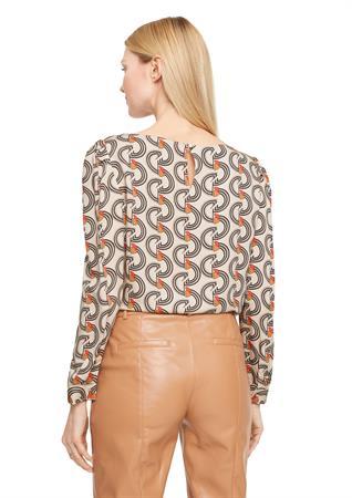 Comma blouse 2058549 in het Grijs