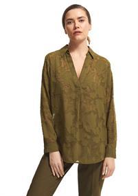 Comma blouse 2059621 in het Kaky