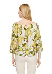 Comma blouse 2064245 in het Licht Geel