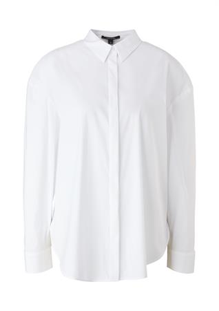 Comma blouse 2104500 in het Wit