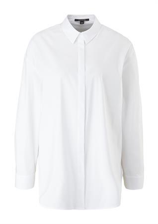 Comma blouse 2105235 in het Wit