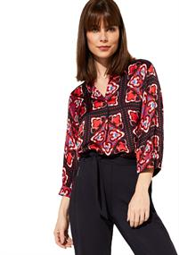 Comma blouse 81001192671 in het Blauw