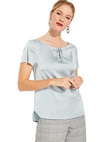 Comma blouse 81002122475 in het Mint Groen