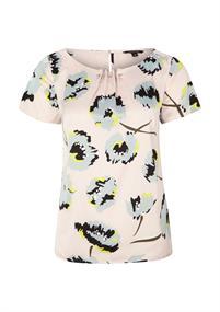 Comma blouse 81002122476 in het Roze