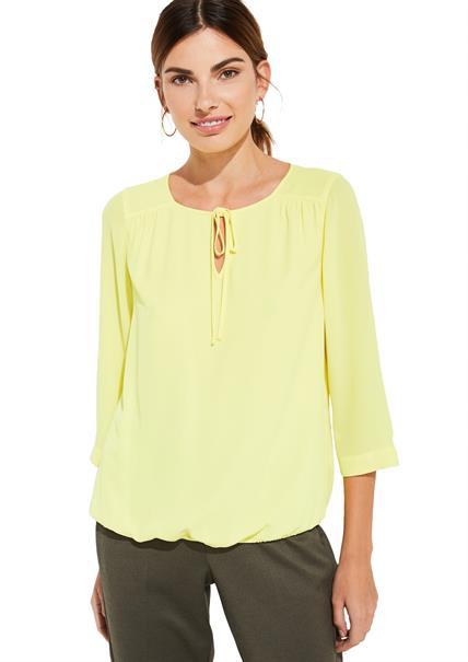 Comma blouse 81002193268 in het Geel