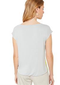 Comma blouse 81002323528 in het Groen
