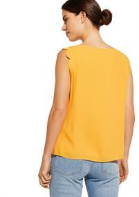 Comma blouse 81003123283 in het Oker