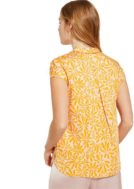 Comma blouse 81003123292 in het Roze