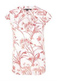 Comma blouse 81004121768 in het Rood