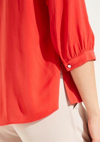 Comma blouse 81004192517 in het Rood