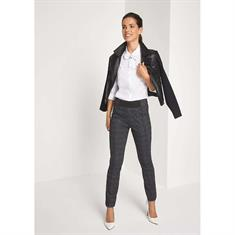 Comma blouse 81809118914 in het Wit