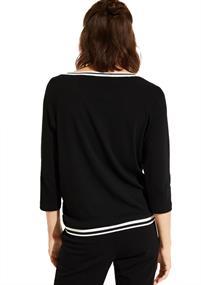 Comma blouse 88908395638 in het Brique