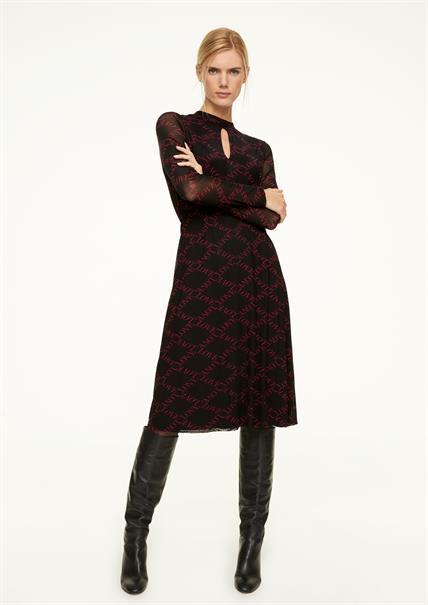 Comma jurk 2048438 in het Multicolor