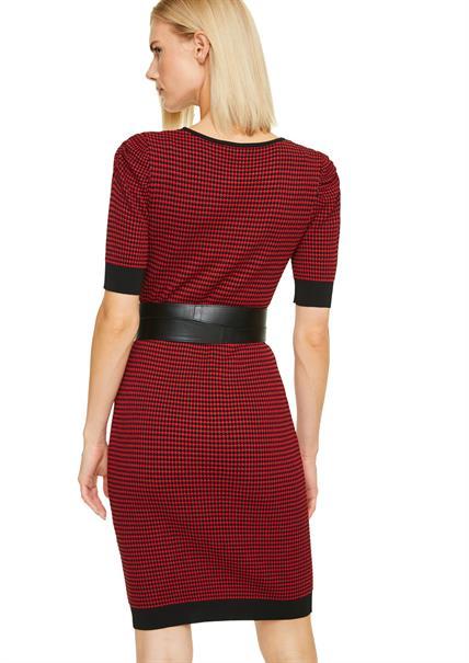 Comma jurk 2051291 in het Rood