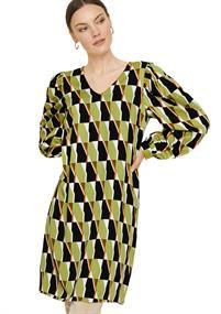 Comma jurk 2058493 in het Groen