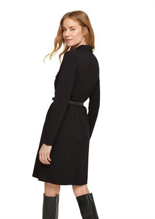 Comma jurk 2058759 in het Zwart
