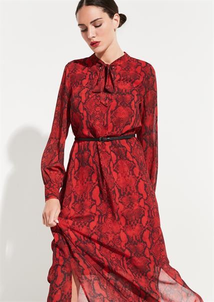 Comma jurk 81909825064 in het Rood