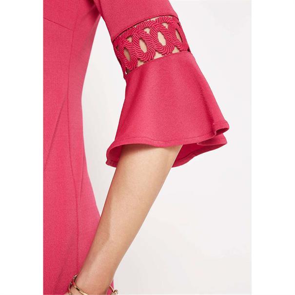 Comma jurk 8t803824364 in het Fuxia
