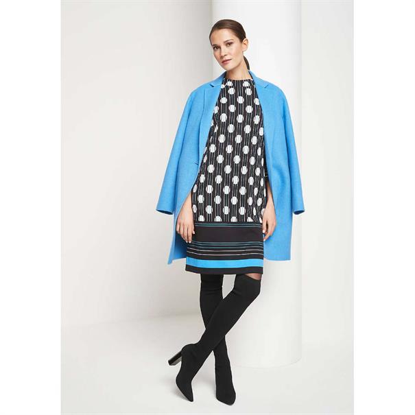 Comma jurk 8t901826328 in het Kobalt
