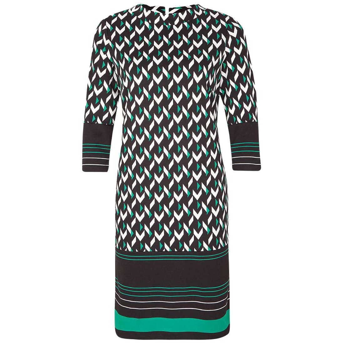 Comma jurk 8t901826328 in het Zwart - Wit