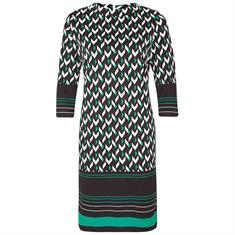 Comma jurk 8t901826328 in het Zwart / Wit