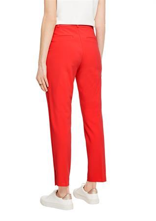 Comma pantalons 2058139 in het Rood