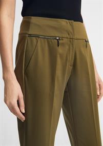 Comma pantalons 2059904 in het Kaky