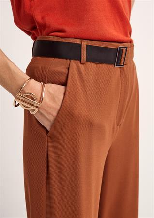 Comma pantalons 2102221 in het Licht Bruin