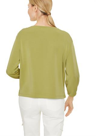 Comma sweater 2058266 in het Groen