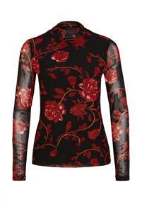 Comma t-shirts 2047764 in het Zwart