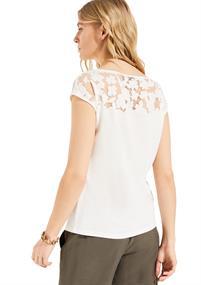 Comma t-shirts 2048030 in het Wit