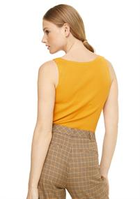 Comma t-shirts 2048421 in het Oranje