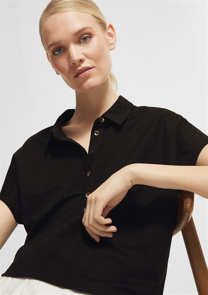 Comma t-shirts 2063720 in het Zwart