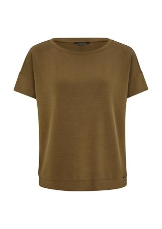Comma t-shirts 2064275 in het Kaky